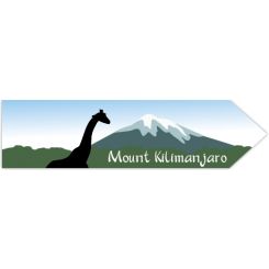 Travel Souvenir Mount Kilimanjaro
