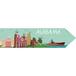 Travel Souvenir Alabama