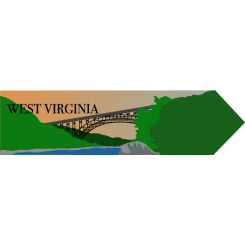 Travel Souvenir West Virginia